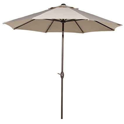Normally $170, this #1 bestselling patio umbrella is 72 percent off today (Photo via Amazon)