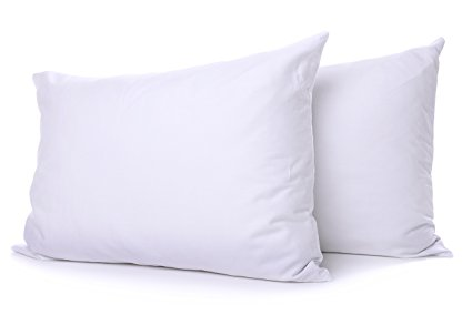 Normally $122, these down pillows are 25 percent off today (Photo via Amazon)