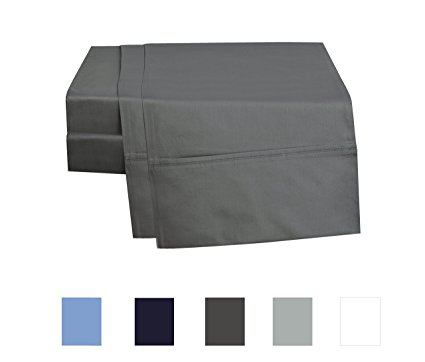 Normally $70, these sheets are 58 percent off. They are available in 4 colors (Photo via Amazon)