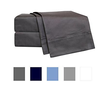 Normally $90, these sheets are 53 percent off today. They come in 4 different colors (Photo via Amazon)