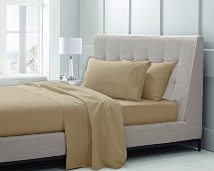 Normally $100, these sheets are 55 percent off today. They are available in 5 different colors (Photo via Amazon)