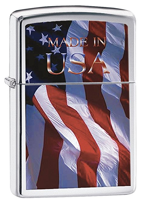 Normally $17, this American flag lighter is 26 percent off today (Photo via Amazon)
