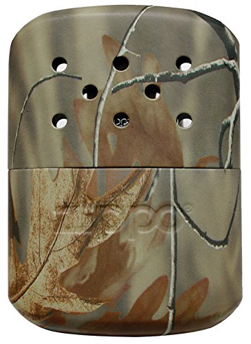 Normally $21, this camo Zippo hand warmer is 26 percent off today (Photo via Amazon)
