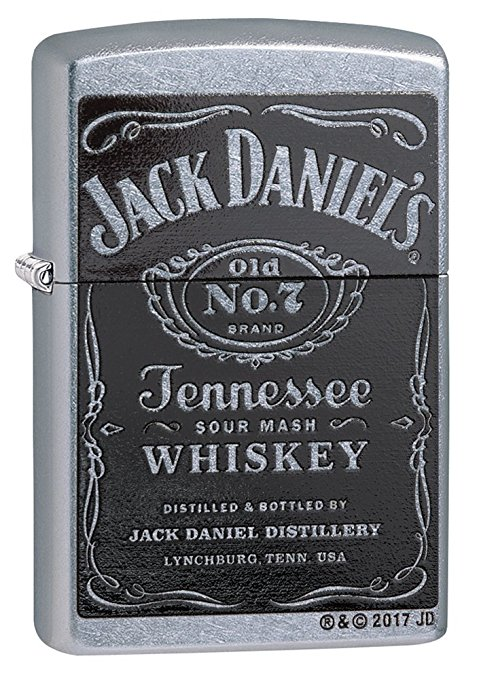 Normally $15, this Zippo Jack Daniel's lighter is 25 percent off today (Photo via Amazon)