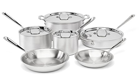 Normally $762, this 10-piece cookware set is 67 percent off today (Photo via Amazon)