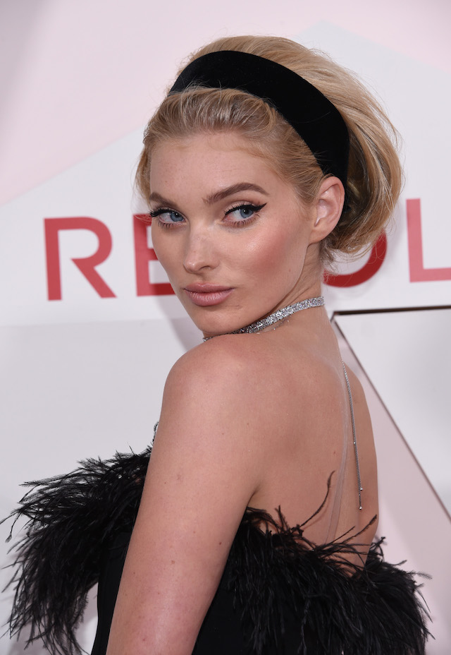 Model Elsa Hosk attends the first annual #REVOLVEawards at the Dream Hotel in Hollywood, on November 2, 2017. / AFP PHOTO / CHRIS DELMAS (Photo credit should read CHRIS DELMAS/AFP/Getty Images)