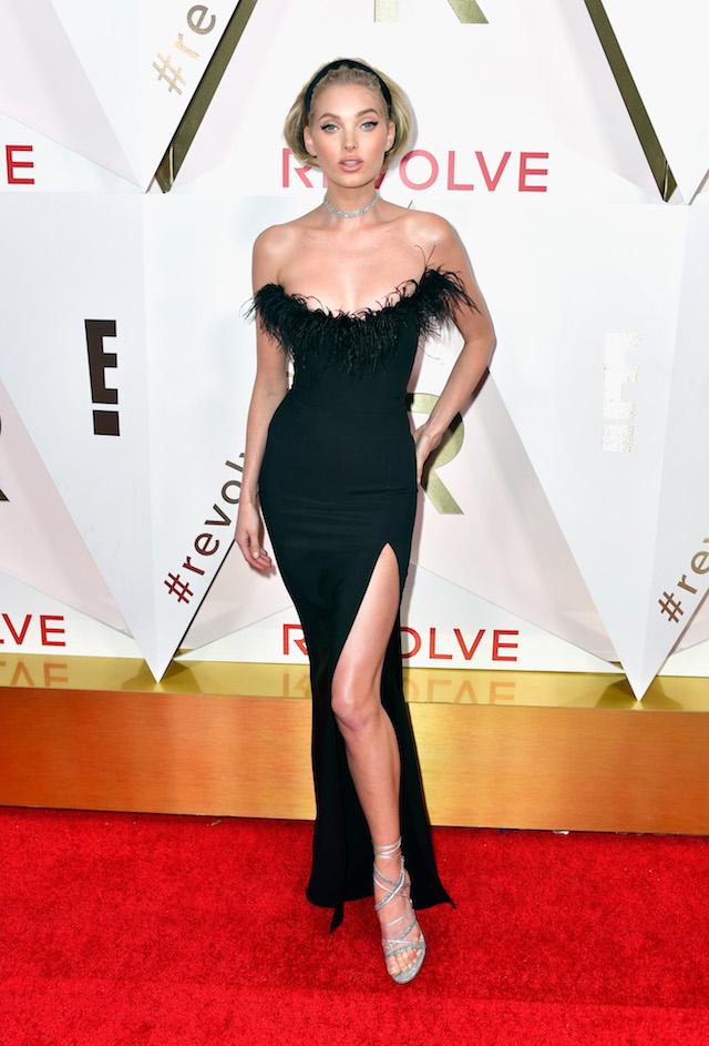 HOLLYWOOD, CA - NOVEMBER 02: Elsa Hosk attends the #REVOLVEawards at DREAM Hollywood on November 2, 2017 in Hollywood, California. (Photo by Frazer Harrison/Getty Images)
