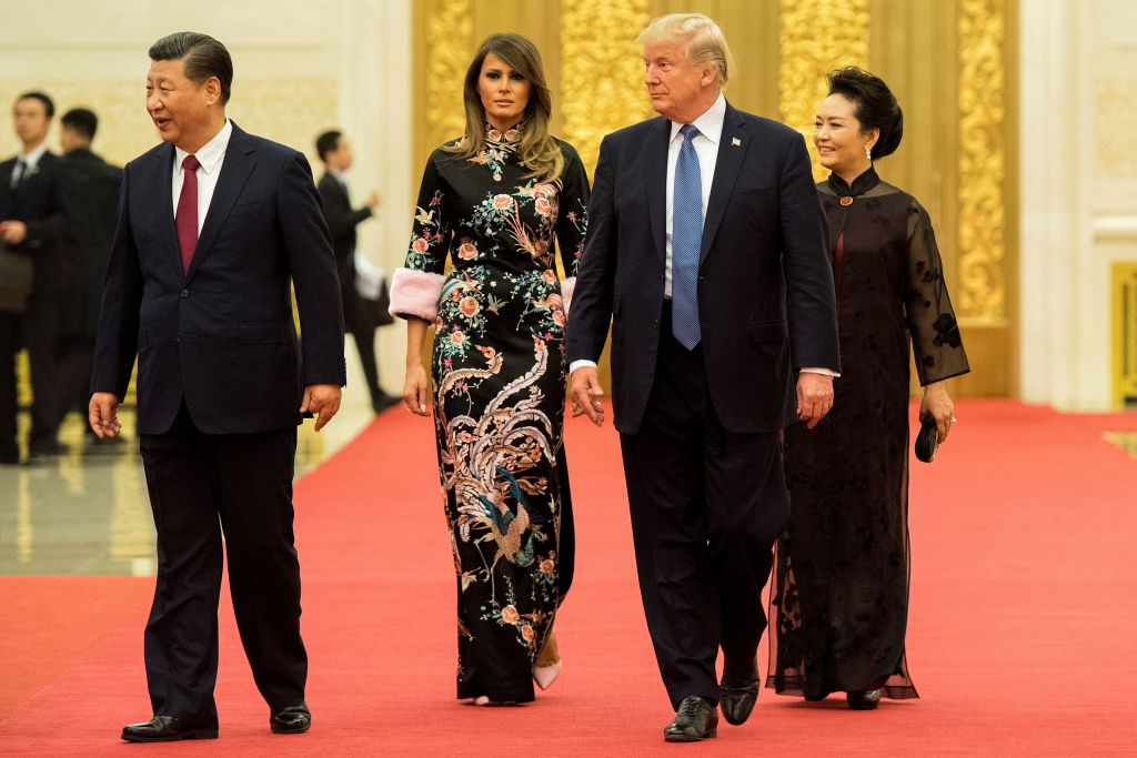 Мелания трамп в китае