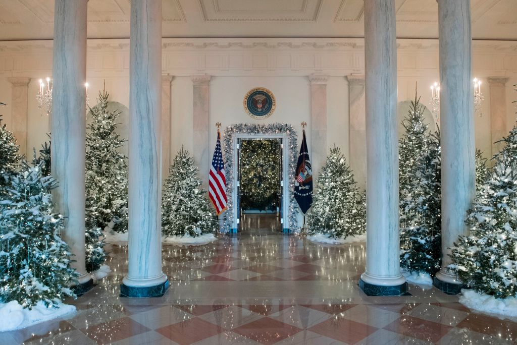 photo credit saul loebafpgetty images - The White House Christmas Decorations 2017