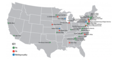 Map Of Women's Colleges That Admit Transgenders. (Screenshot/The Daily Tar Heel).