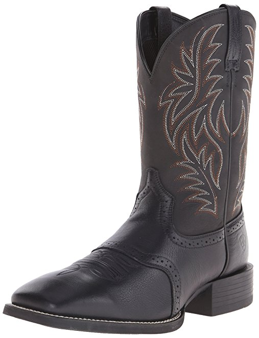Normally $140, these boots are 44 percent off today. They are available in both black and fiddle brown (Photo via Amazon)