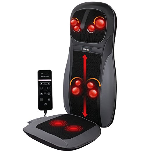 Normally $350, this massage seat cushion is 63 percent off with this code (Photo via Amazon)