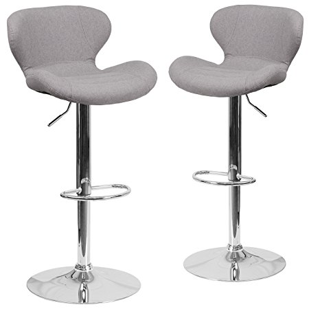 Normally $135, these 2 barstools are 48 percent off today (Photo via Amazon)