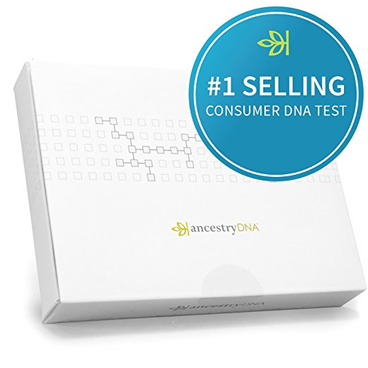 Normally $99, this DNA ancestry kit is 44 percent off today (Photo via Amazon)
