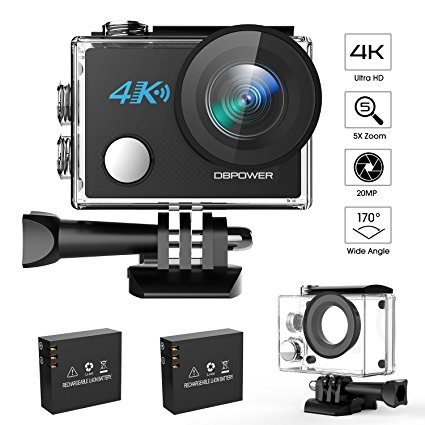 Normally $83, this action camera is 41 percent off today (Photo via Amazon)