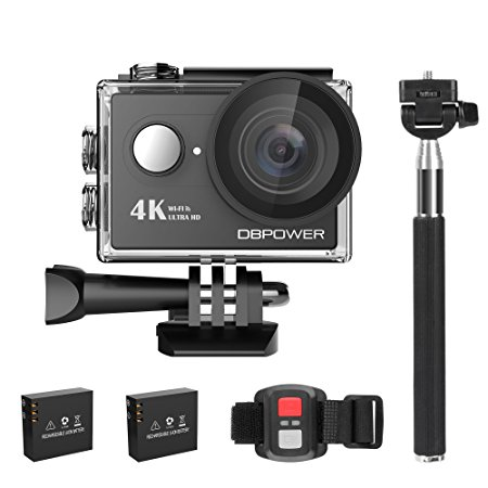 Normally $74, this 4K action camera is 46 percent off with this code (Photo via Amazon)