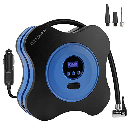 Normally $70, this air compressor pump is 65 percent off with this code (Photo via Amazon)