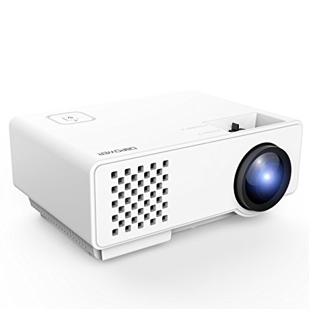 Normally $74, this portable projector is 25 percent off with this code (Photo via Amazon)