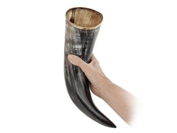 Normally $40, this drinking horn is 25 percent off