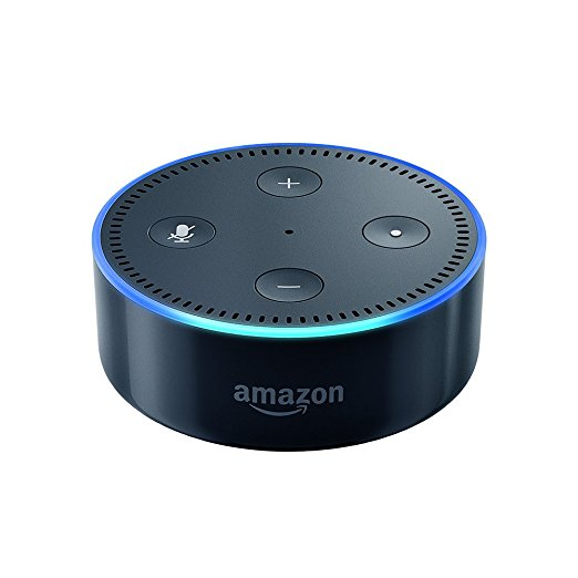 Normally $50, the 2nd generation Echo Dot is 40 percent off for Black Friday (Photo via Amazon)