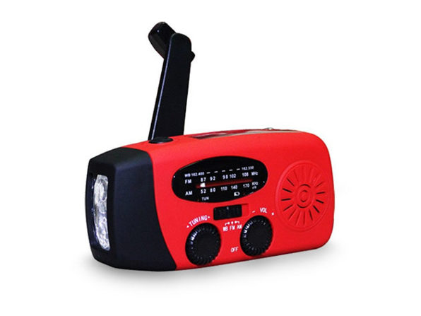 Normally $90, this emergency radio/flashlight is 78 percent off today (Photo via Amazon)