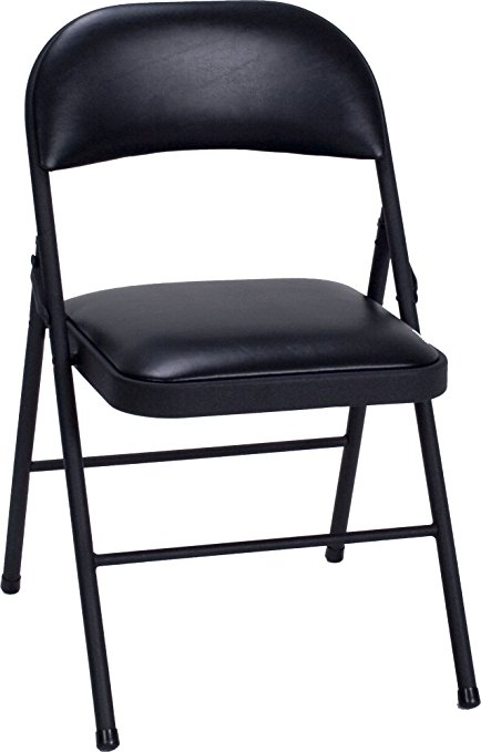 Normally $120, this 4-pack of chairs is a #1 bestseller. It is 57 percent off today (Photo via Amazon)