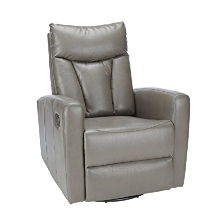 Normally $413, this leather recliner is 40 percent off today (Photo via Amazon)