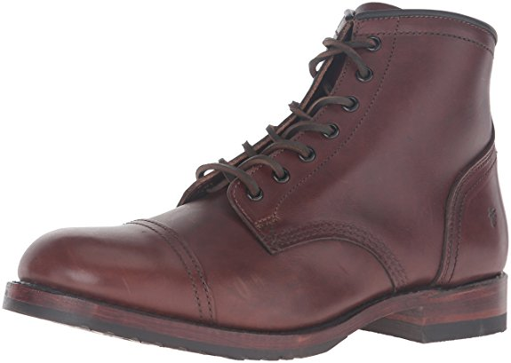 Normally $458, these combat boots are 54 percent off today. They also come in black (Photo via Amazon)