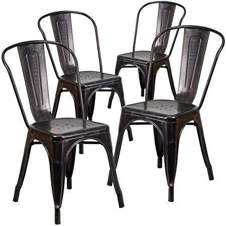 Normally $206, these four indoor/outdoor chairs are 56 percent off today (Photo via Amazon)