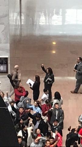 Jack Crowe DCNF/Kamala Harris raised fist