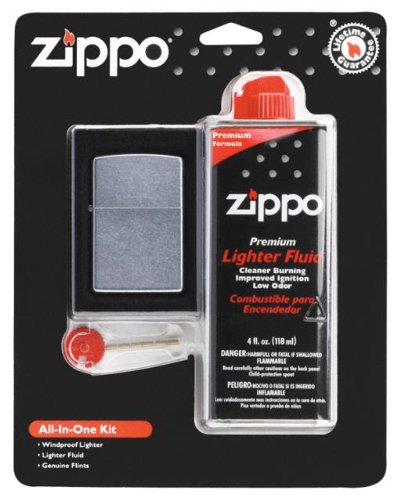 Normally $18.50 this Zippo all-in-one kit is 41 percent off (Photo via Amazon)