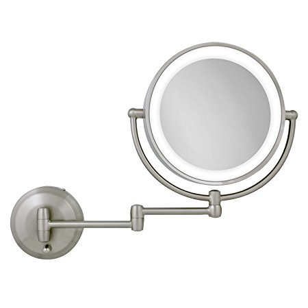Normally $120, this LED lighted mount mirror is 53 percent off today (Photo via Amazon)
