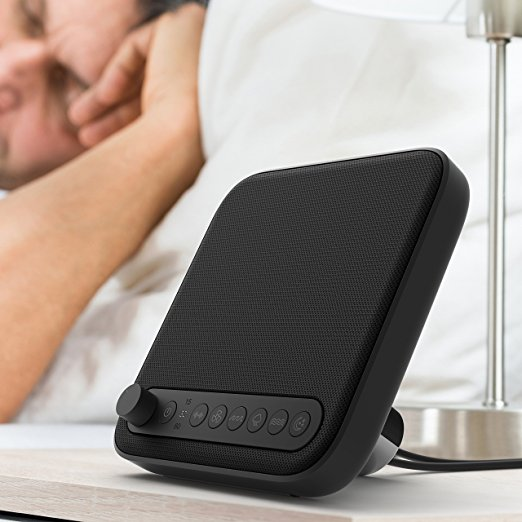Normally $40, this sleep sound machine is 44 percent off today (Photo via Amazon)