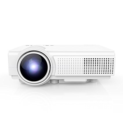 Normally $130, this projector is 57 percent off with this code (Photo via Amazon)