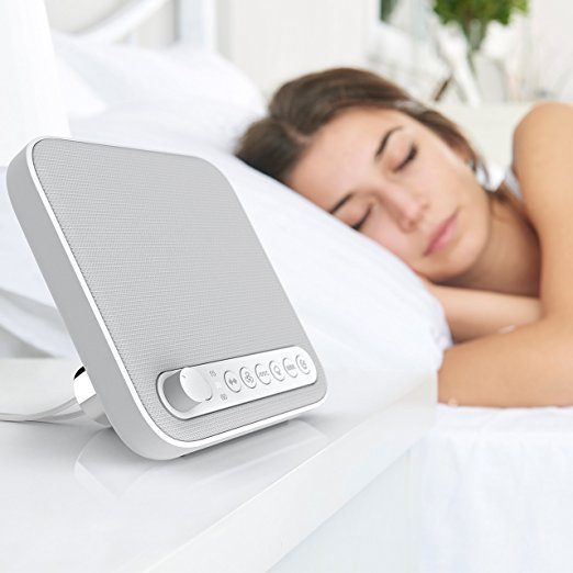 Normally $45, this sleep sound machine is 50 percent off today (Photo via Amazon)