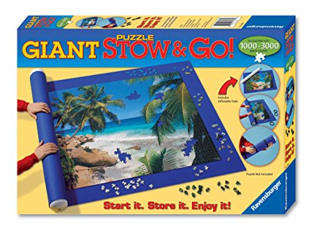 Normally $26, this puzzle transport system is 68 percent off today (Photo via Amazon)