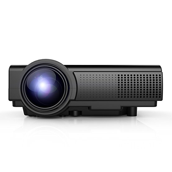 Normally $130, this mini projector is 53 percent off with this code (Photo via Amazon)