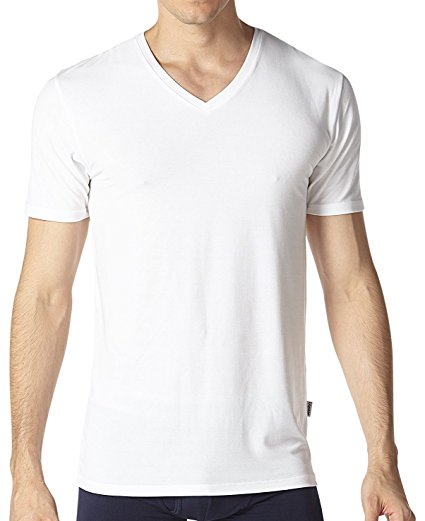 Normally $55, this 2-pack of undershirts is 50 percent off. It comes in black, white, blue and grey.