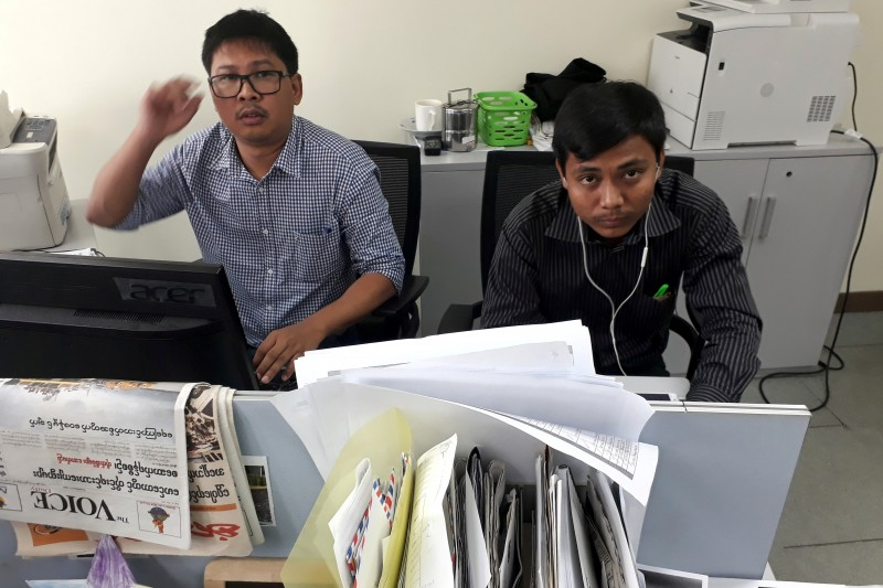 EU Parliament calls on Myanmar to free Reuters journalists