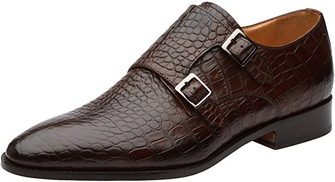 Normally $175, these dress shoes are 37 percent off today. They are available in brown, black, croc black and tan (Photo via Amazon)