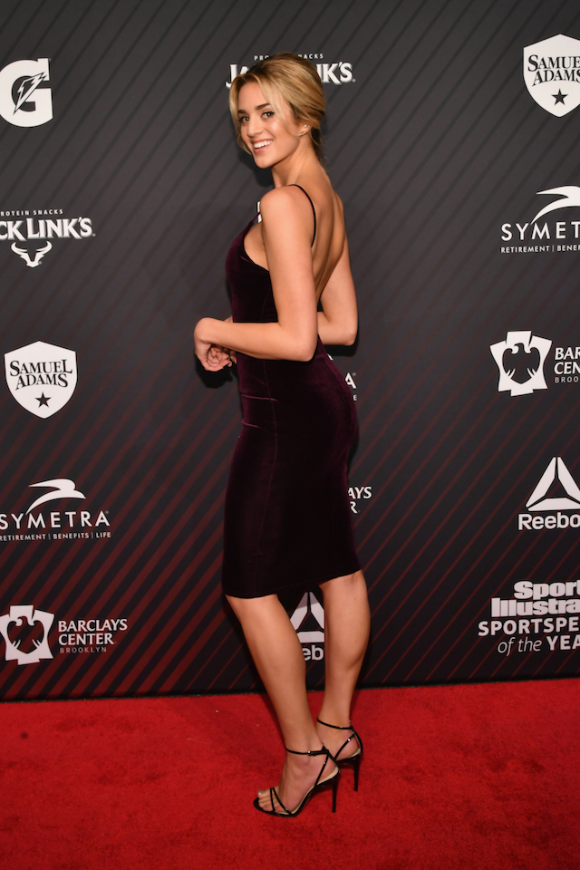 Sports Illustrated Swimsuit Model Allie Ayers attends SPORTS ILLUSTRATED 2017 Sportsperson of the Year Show on December 5, 2017 at Barclays Center in New York City. (Photo by Slaven Vlasic/Getty Images for Sports Illustrated)