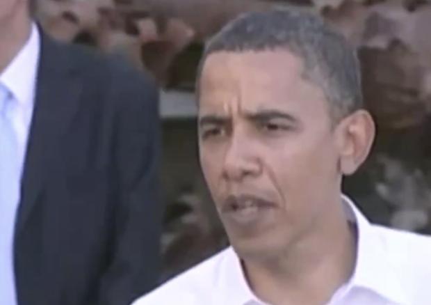 Barack Obama on Israel's capital (Photo: Screenshot/Twitter)