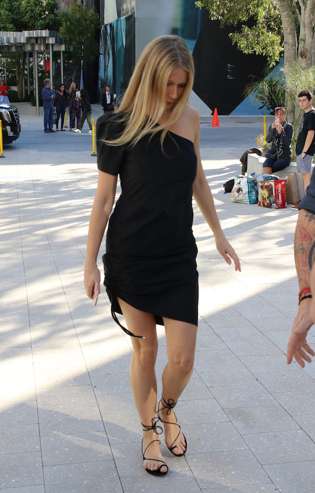 Gwyneth Paltrow book signing at Miami Design District <P> Pictured: gwyneth paltrow <B>Ref: SPL1637291 151217 </B><BR /> Picture by: Splash News<