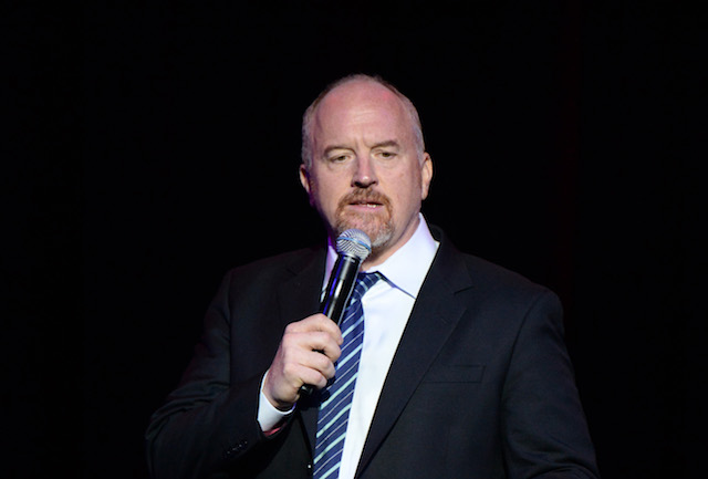 NEW YORK, NY - NOVEMBER 01: Louis C.K. performs on stage as The New York Comedy Festival and The Bob Woodruff Foundation present the 10th Annual Stand Up for Heroes event at The Theater at Madison Square Garden on November 1, 2016 in New York City. (Photo by Kevin Mazur/Getty Images for The Bob Woodruff Foundation)