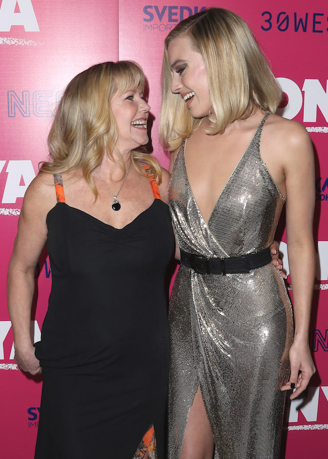 Celebrities at the 'I, Tonya' film premiere in Los Angeles, California, USA. <P> Pictured: Tonya Harding and Margot Robbie <B>Ref: SPL1633671 051217 </B><BR /> Picture by: PG / Splash News