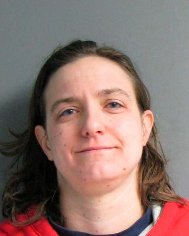 Sonja Farak, 35, is pictured in this Massachusetts State Police booking photo taken January 19, 2013. Courtesy Massachusetts State Police/Handout via REUTERS