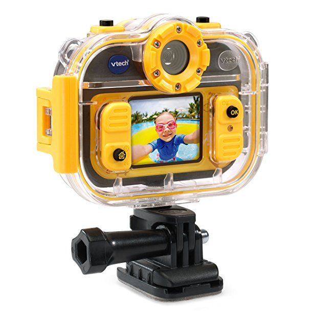 Normally $50, this kids' action cam is 60 percent off today (Photo via Amazon)