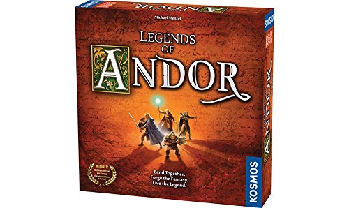 Normally $60, Legends of Andor is 55 percent off today (Photo via Amazon)