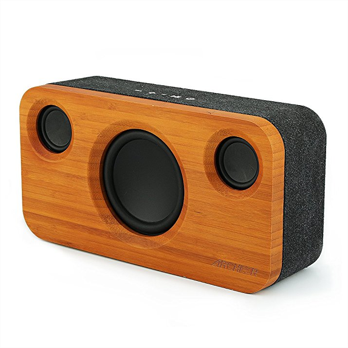 Normally $60, this #1 most popular bluetooth speaker is 43 percent off with this code (Photo via Amazon)