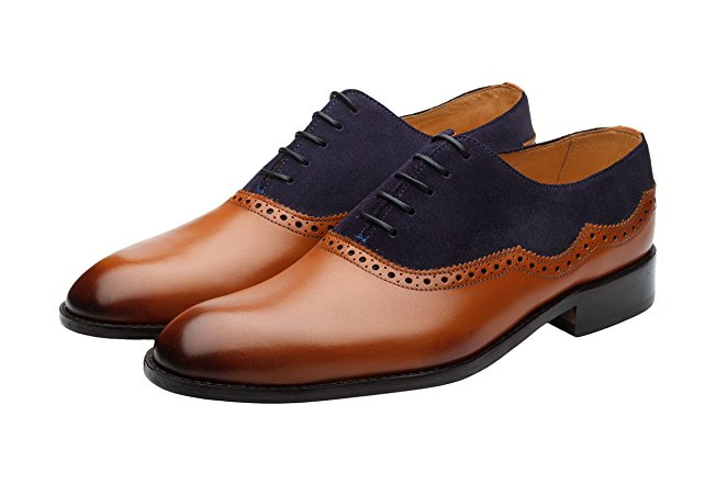 Normally $180, these Oxfords are 45 percent off today. They are available in tan, brown and navy (Photo via Amazon)